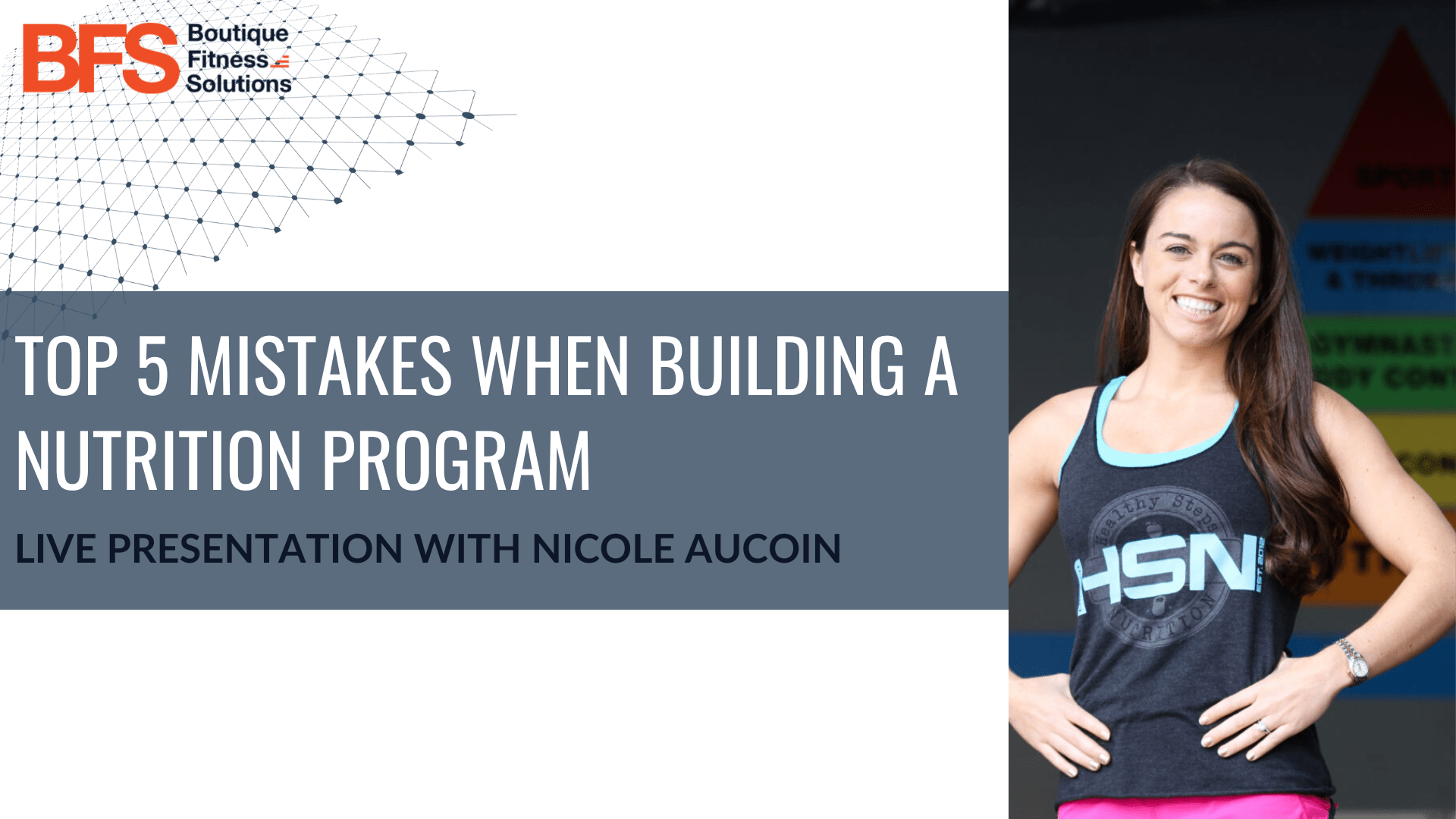 Top 5 Mistakes To Avoid When Building A Nutrition Program