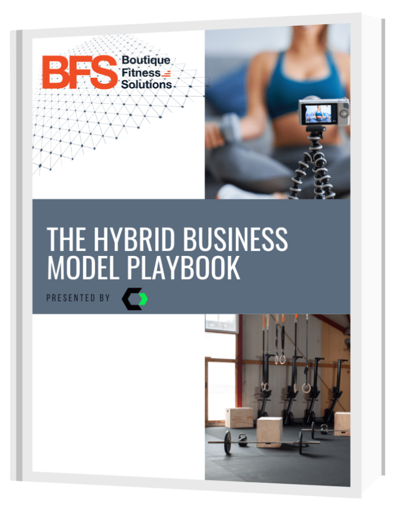 The hybrid business model playbook cover