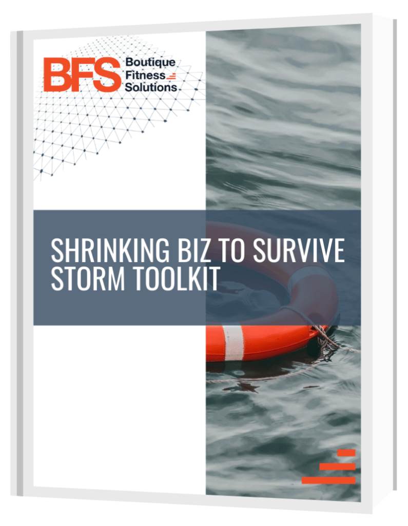 Shrinking your business to survive the storm toolkit playbook cover