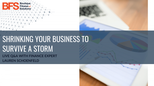 LIVE Q&A_ Shrinking Your Business to Survive a Storm